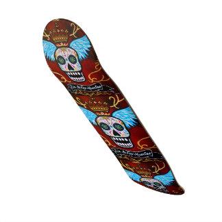 Dia de los Muertos Winged Calaveras Skate Boards