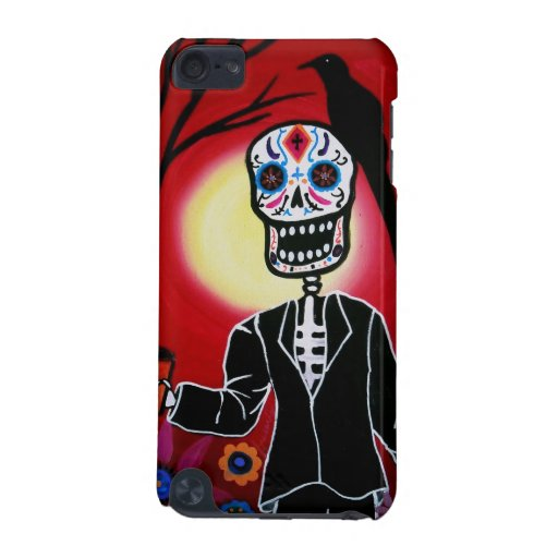 Dia de los Muertos with Crow iPod Touch 5G Cover