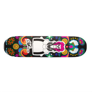 Dia De Lost Muertos (Day of the Dead) 21.3 Cm Mini Skateboard Deck