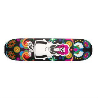 Dia De Lost Muertos (Day of the Dead) 21.3 Cm Mini Skateboard Deck