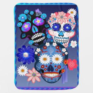 Día de Muertos-Day Of The Dead. Baby Blanket