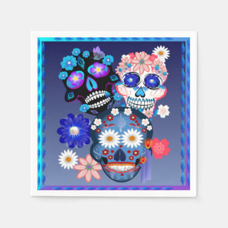 Día de Muertos-Day Of The Dead. Paper Napkins