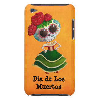 Dia de Muertos Mexican Miss Death Barely There iPod Covers