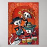 Dia de Muertos Musical Skeleton Band