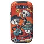 Dia de Muertos Musical Skeleton Band Galaxy S3 Case