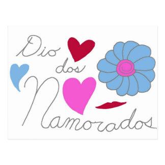 Dia Dos Namorados 2011 Postcard