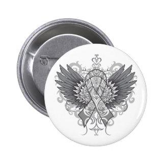 Diabetes Awareness Cool Wings 6 Cm Round Badge
