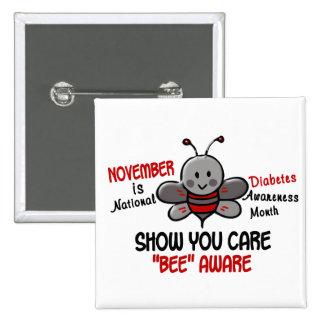 Diabetes Awareness Month Bee 1 1 Button