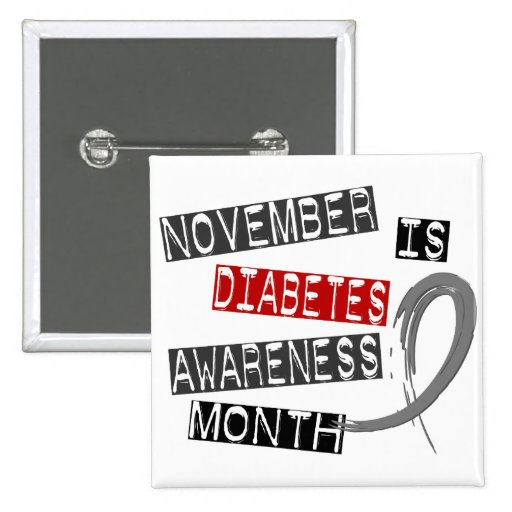 Diabetes Awareness Month L1 Button