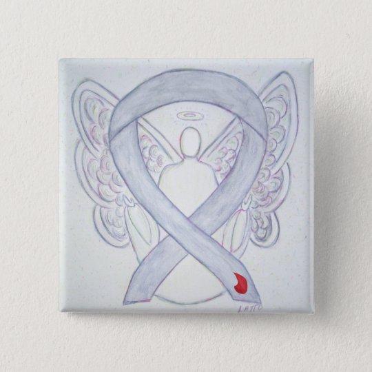 Diabetes Awareness Ribbon Custom Angel NIDDM Pins