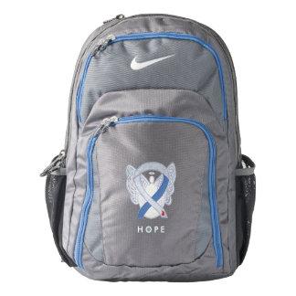 Diabetes IDDM Awareness Ribbon Angel Backpack