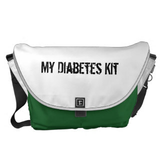 Diabetes Kit Messenger Bag