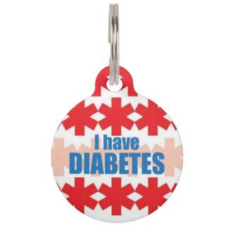 Diabetes Medical Alert ID Tag Pet Name Tags