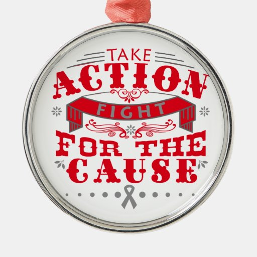 Diabetes Take Action Fight For The Cause Ornament