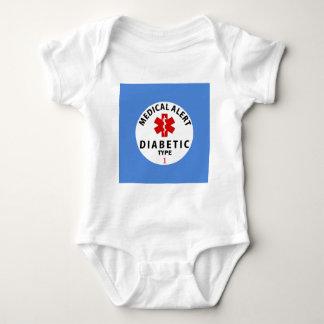DIABETES TYPE 1 BABY BODYSUIT