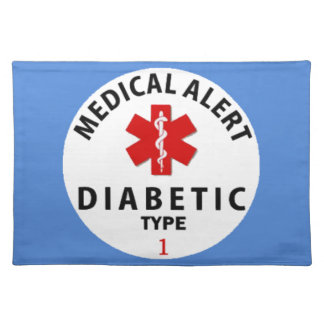 DIABETES TYPE 1 PLACEMATS