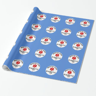 DIABETES TYPE 1 WRAPPING PAPER