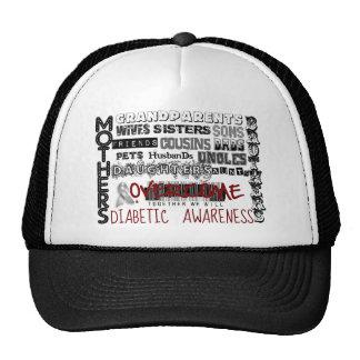 DIABETIC AWARENESS CAP