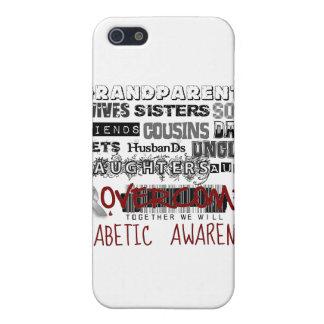 DIABETIC AWARENESS iPhone 5/5S COVER