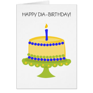 Diabirthday Card