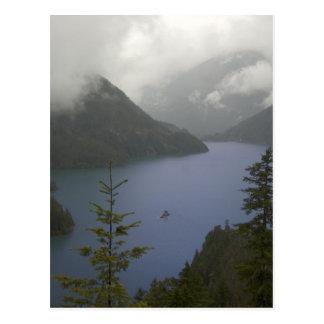 Diablo Lake - North Cascades Postcard
