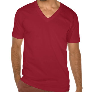 Diablo s Spicy Fish Tacos Red V-neck Shirt