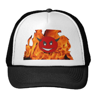 Diabolic smiley cap