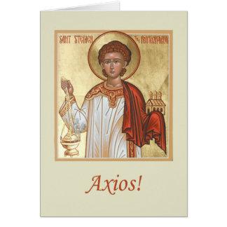 Diaconate Greeting Card