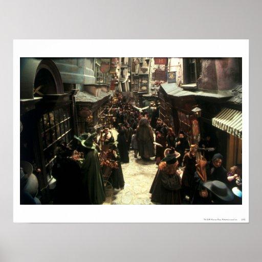 Diagon Alley Print