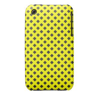 DIAGONAL BLACK SQUARE iPhone 3 Case-Mate CASES