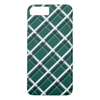 Diagonal Checks iPhone 7 Plus Case