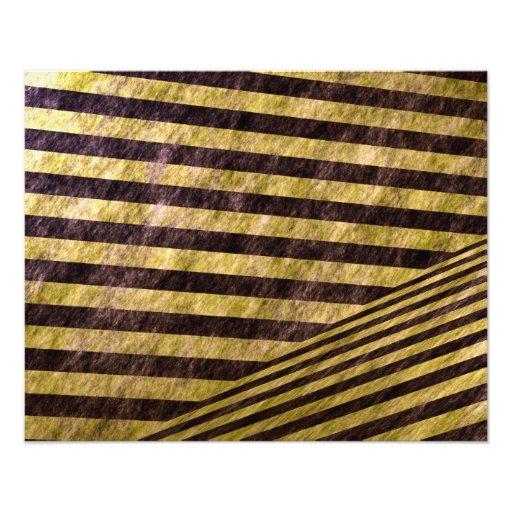 Diagonal Chevron Stripes Design Photograph