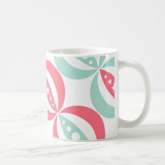Diagonal Circus Coffee Mug