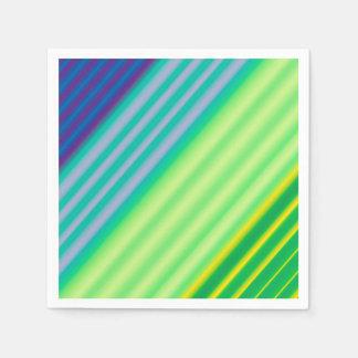 Diagonal Contrast Paper Napkins
