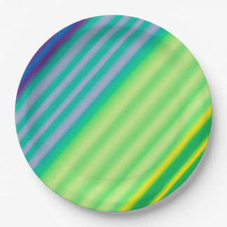 Diagonal Contrast Paper Plates