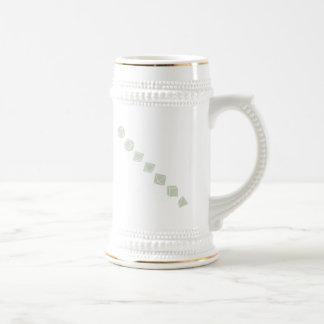 Diagonal Dice (Light) Mug