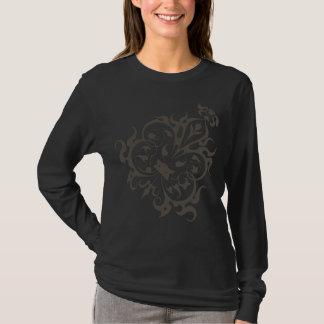Diagonal Flourish T-Shirt