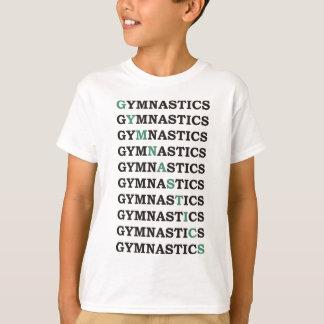 Diagonal Gymnastics T-Shirt
