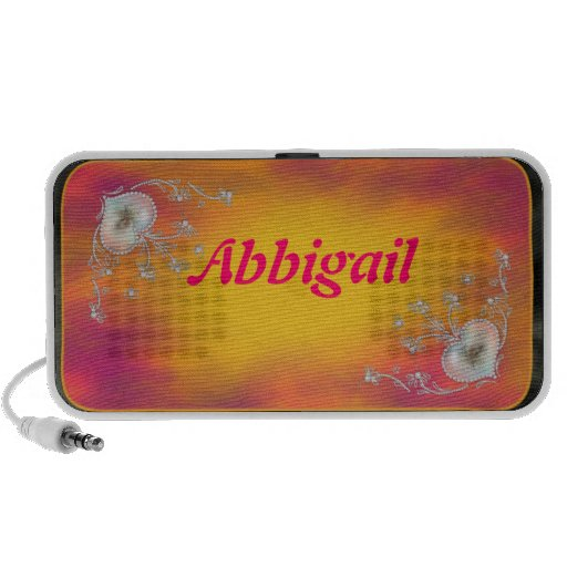 Diagonal Hearts Laptop Speaker