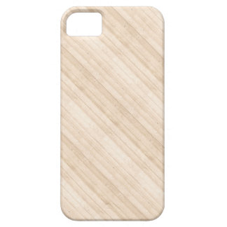 Diagonal Light Wood Texture iPhone 5 Case