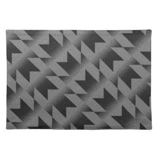 Diagonal M pattern Placemat