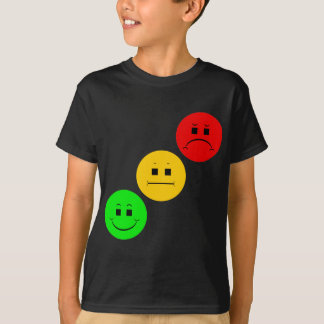 Diagonal Moody Stoplight Sans Stripe Tee Shirts