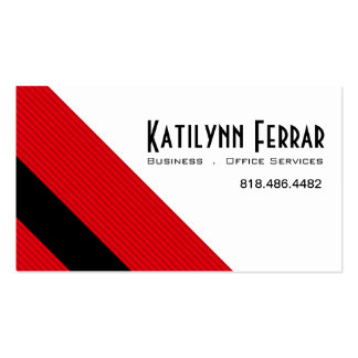 Diagonal Pinstripes Business Office Services Pack Of Standard Business Cards