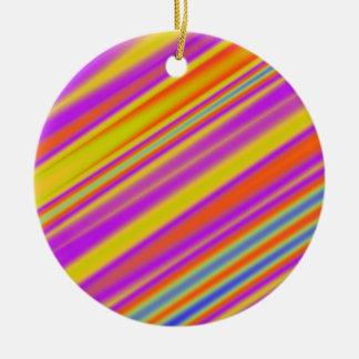 Diagonal Stripes 06 Ornaments