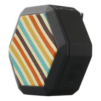 Diagonal Stripes 4 Retro Colors Blue Yellow Red Black Boombot Rex Bluetooth Speaker