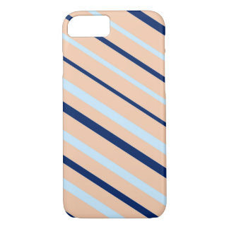 Diagonal stripes abstract pattern iPhone 7 case