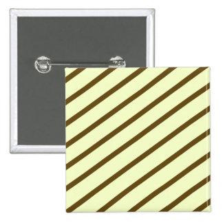 Diagonal Stripes Button