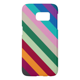 Diagonal Stripes In Fall Colors