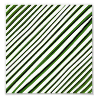 Diagonal Stripes Pattern Photo Print