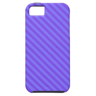 Diagonal Violet Purple Stripes iPhone 5 Covers